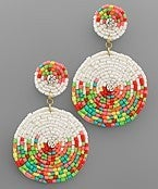 Here For The Party Earrings *White*