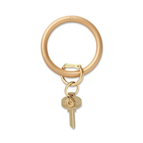 Metallic Silicone Big O® Key Ring - 3 Colors!