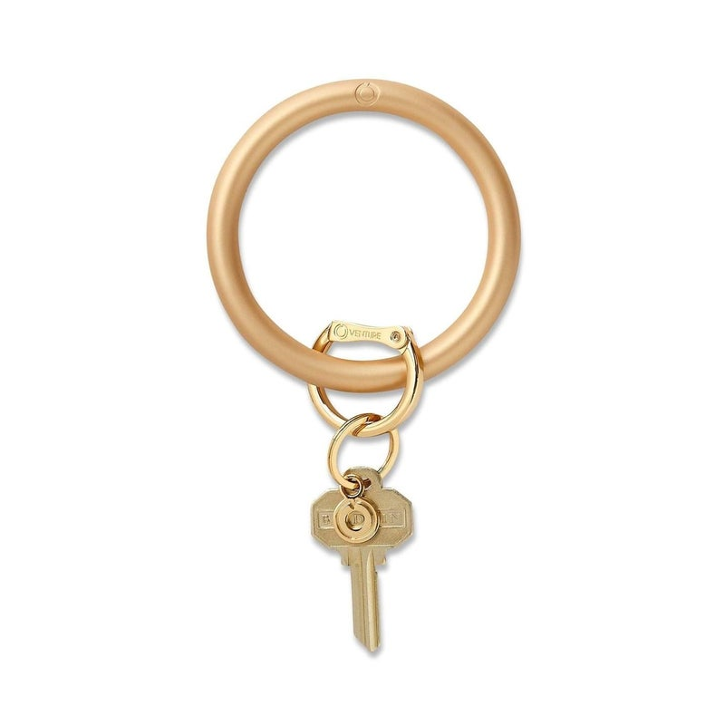 Metallic Silicone Big O® Key Ring - 3 Colors!