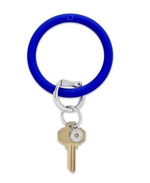 Silicone Big O Key Ring *Blue Me Away*