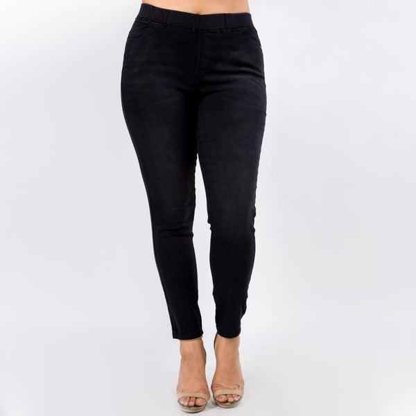 Join The Trend Jeggings - Black