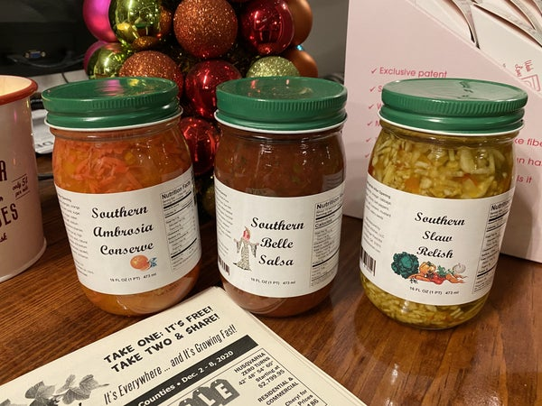 The Relish Kitchen - 3 Kinds! (Only order this if you are LOCAL to ELLAVILLE PLEASE)