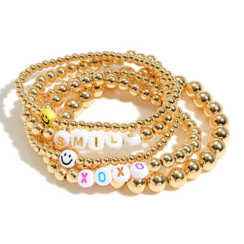 Smile It's A New Day Bracelet
