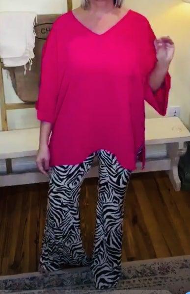 Zebra Pants with Waist Control! *Final Sale*