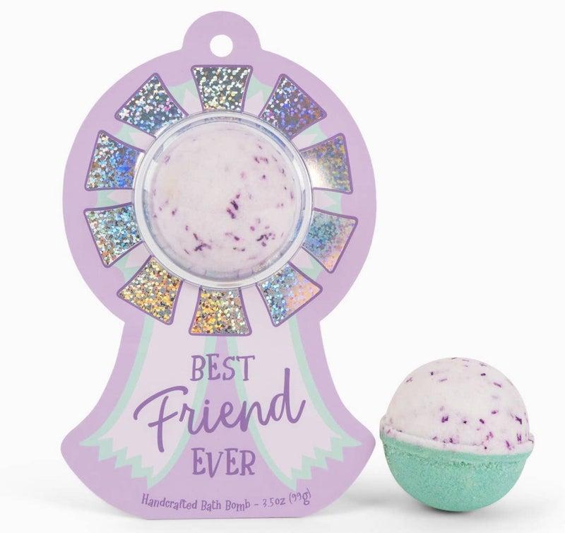 Best Friend Ever Award Ribbon Clamshell Bath Bomb