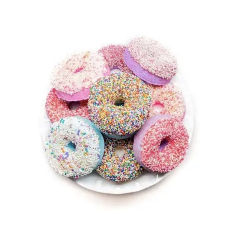 Donut Bath Bombs *Several Scents*