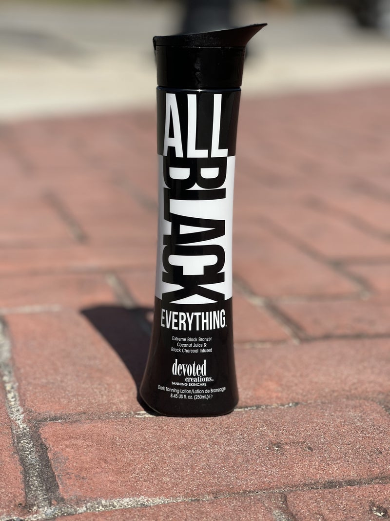 All Black Everything Tanning Lotion *Bronzer*