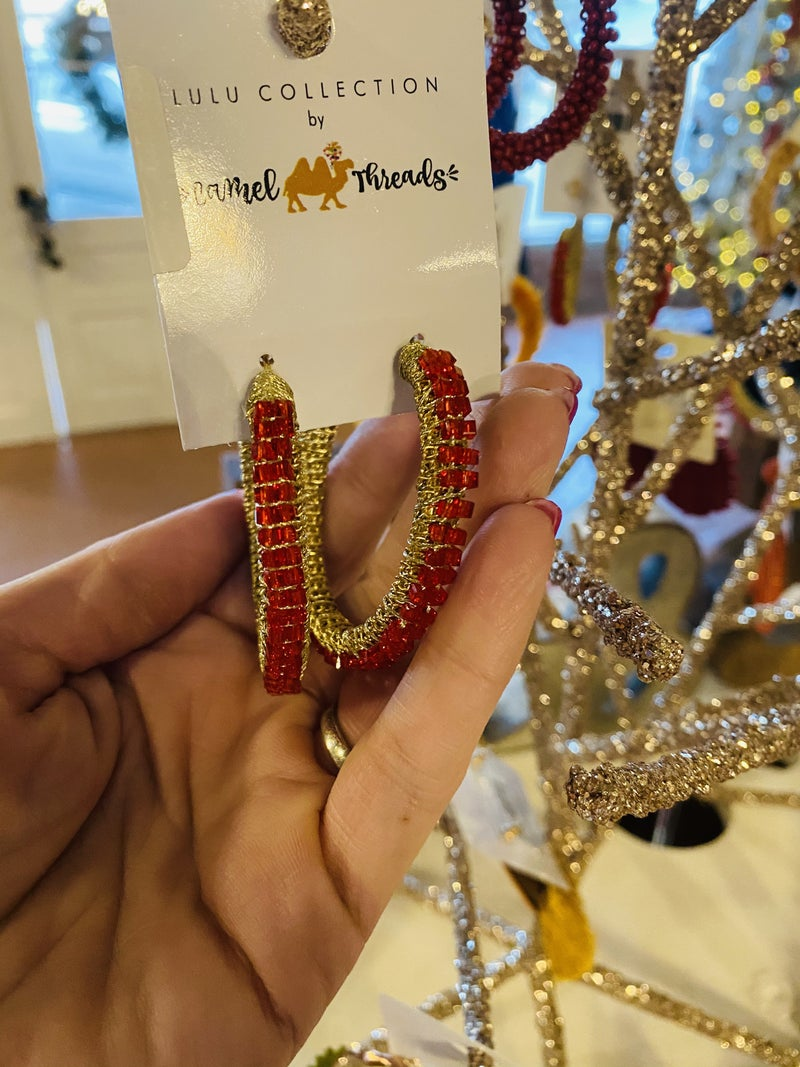 ON SALE! Camel Threads Earrings - 2 Colors!