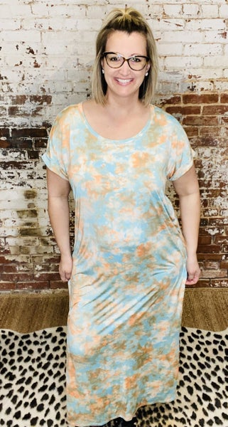 Curvy Line! Up In The Clouds Dress
