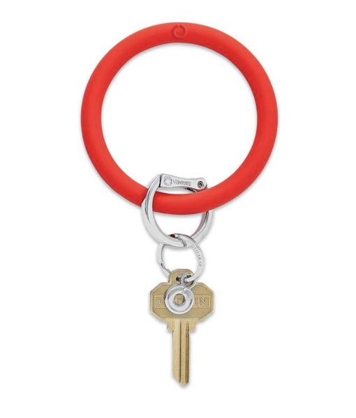 Silicone Big O Key Ring *Cherry On Top*