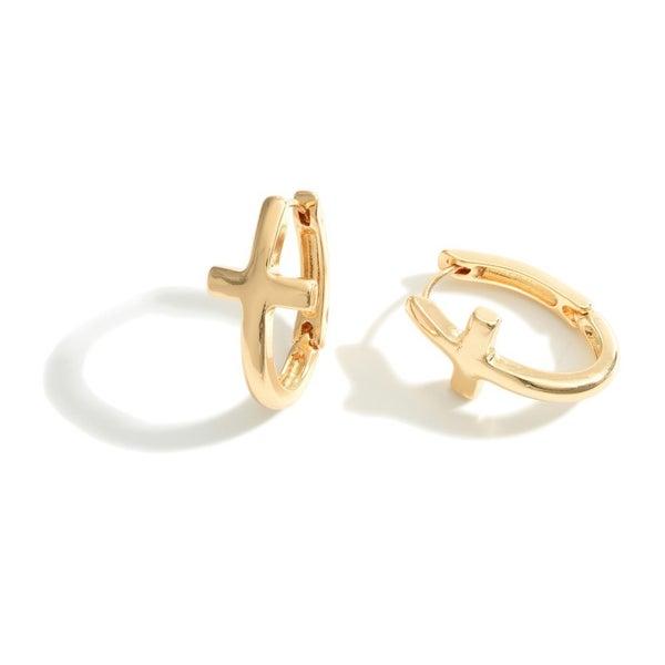 Good As Gold Hoop Earrings