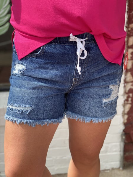 Our Famous YMI Jogger Shorts!