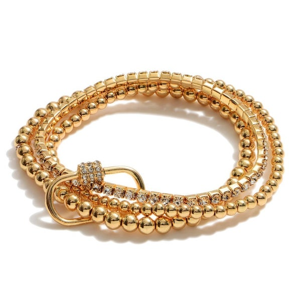 All Gold Everything Bracelet