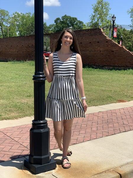 Sassy In Stripes Dress