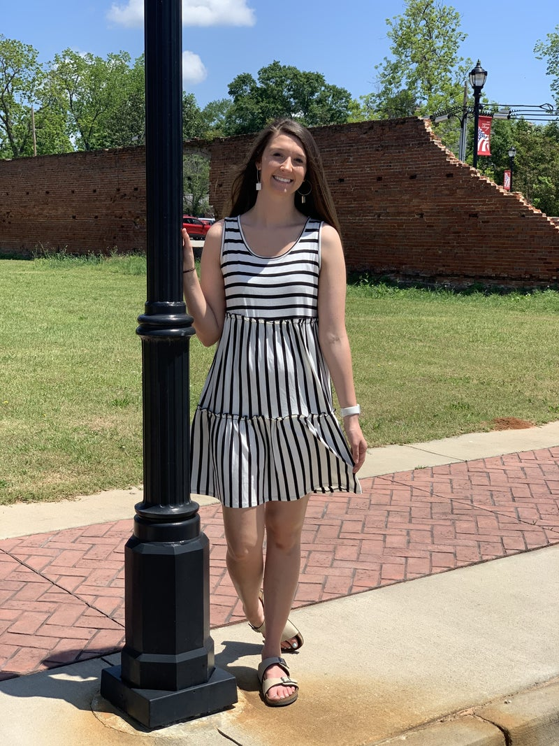 Sassy In Stripes Dress