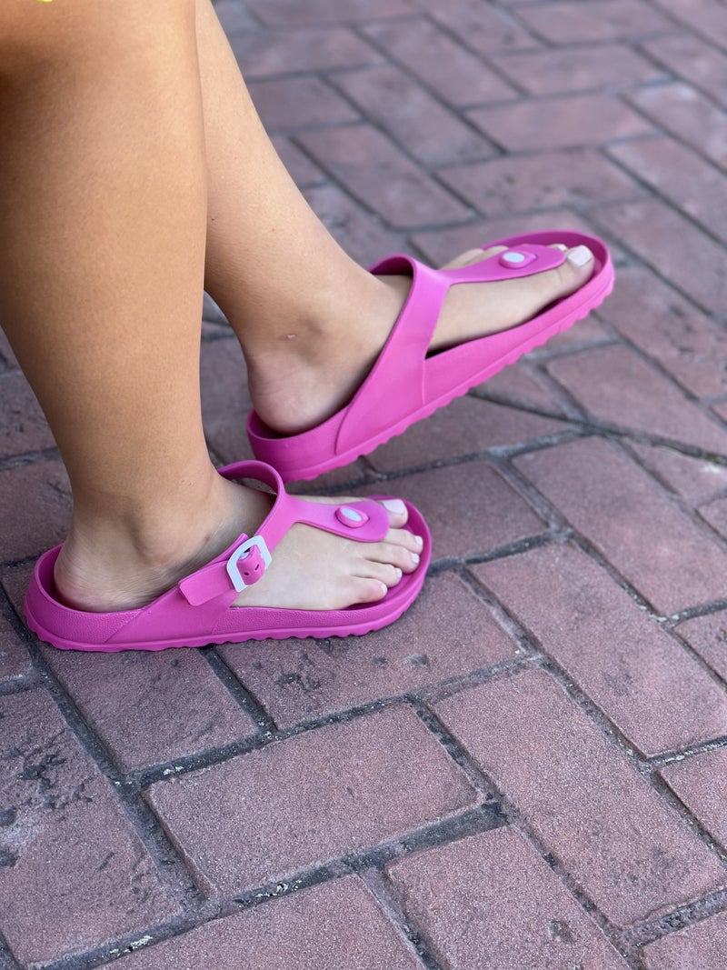Corkys Jet Ski Sandals - Pink