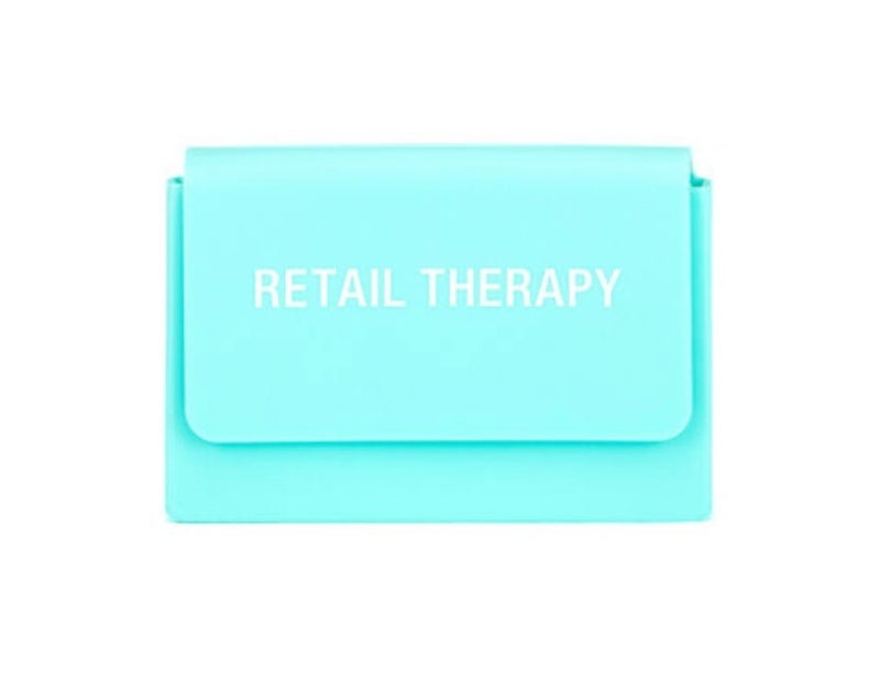 Retail Therapy Silicone Card Case
