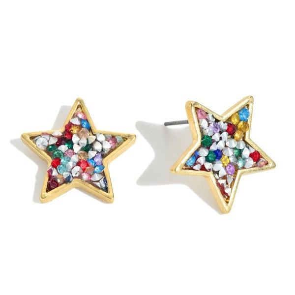 You Light Up the Sky Star Earrings
