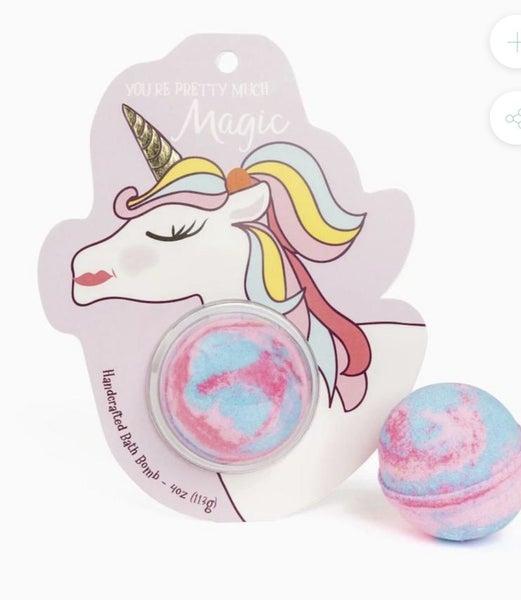 You're Pretty Much Magic Unicorn Clamshell Bath Bomb