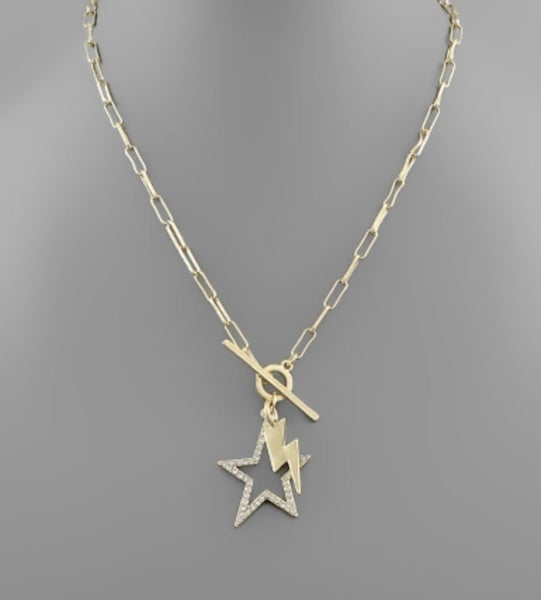 Star + Strike Necklace