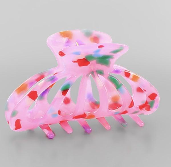 Claw Hair Clip *Pink*