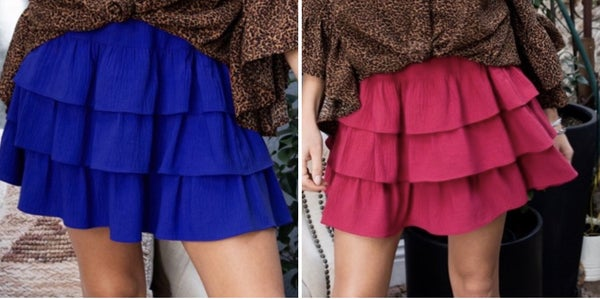 Dance With Me Skirt *2 Colors*