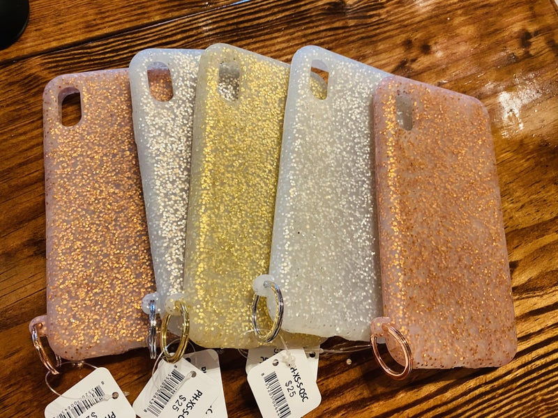 NEW Oventure iPhone Silicone Glitter Cases! - 3 Colors and iPhone Models! *Final Sale*