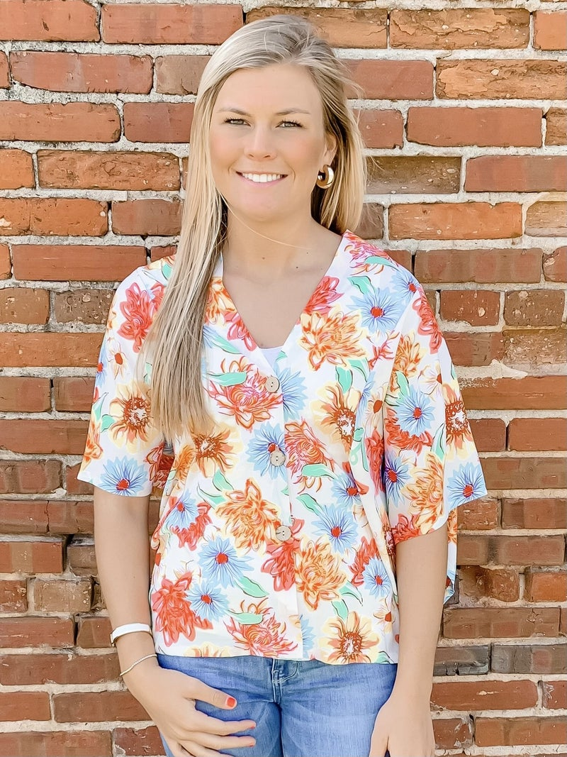 It's the Tropics for Me Top