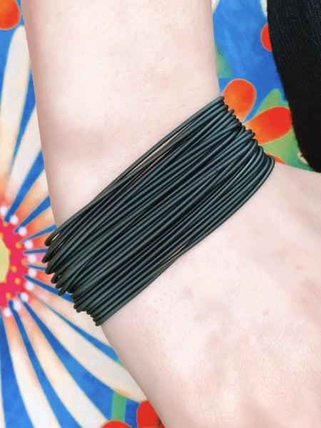 Bella Bracelets Black Set Of 20