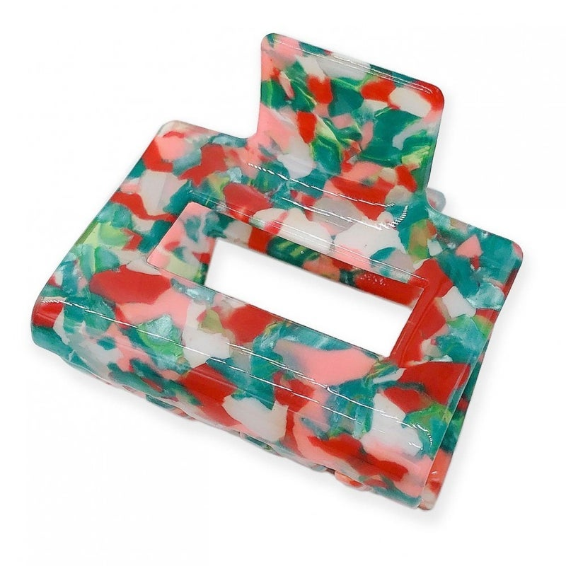 Acrylic Jaw Clip-Coral