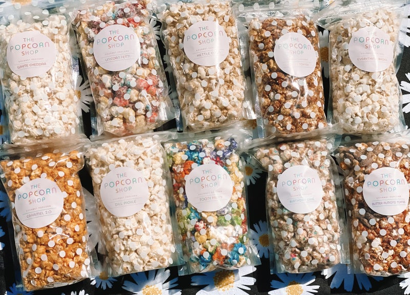 The Popcorn Shop Popcorn  *Several Flavors*
