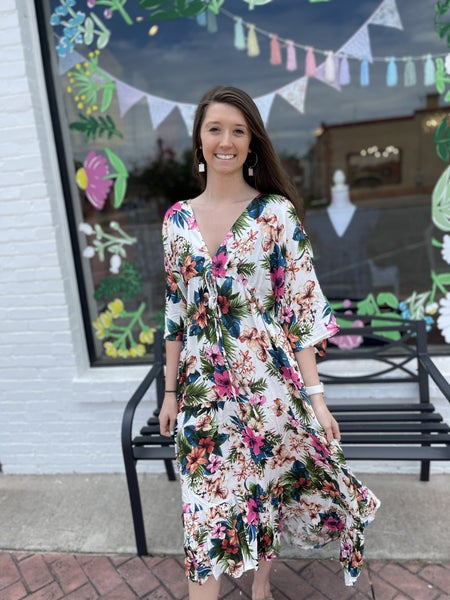 Tropical Breeze Maxi Dress