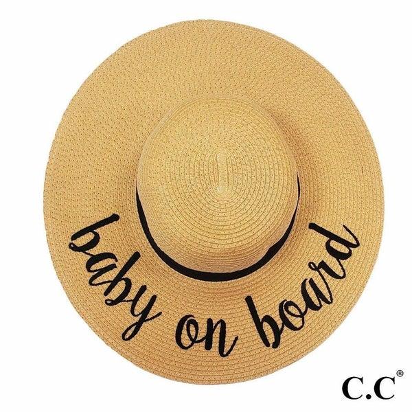 Baby On Board Beach Hat