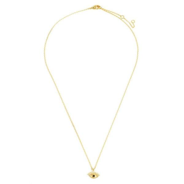 Eye Love It Necklace *Gold*