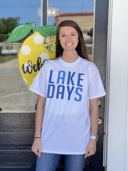 Lake Days Graphic Tee