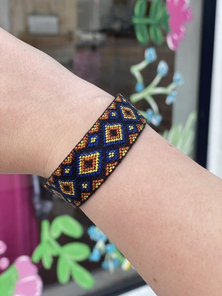 Aztec poppy bracelet *Final Sale*
