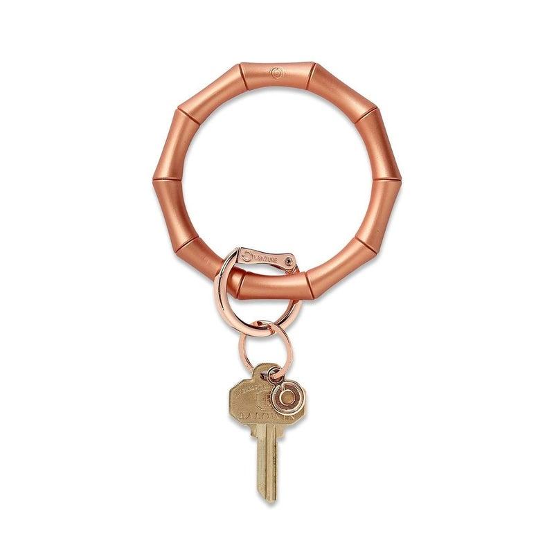 Bamboo Silicone Big O® Key Ring - 3 Colors!