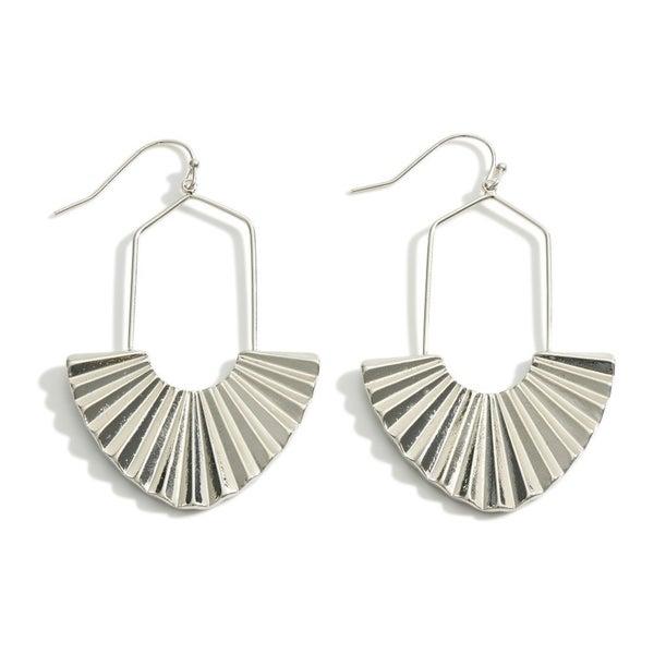 Fan Of Yours Earrings-Silver