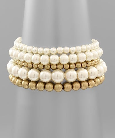 Graceful Pearl Bracelet