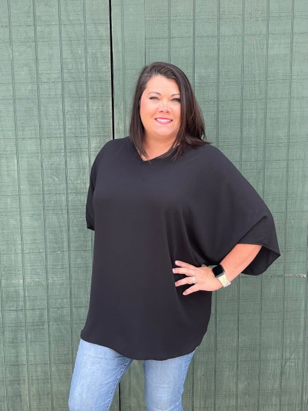 Curvy Line! Thinking Of You Top