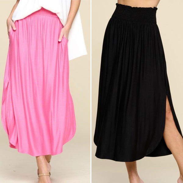 Date Night Skirt *2 colors*