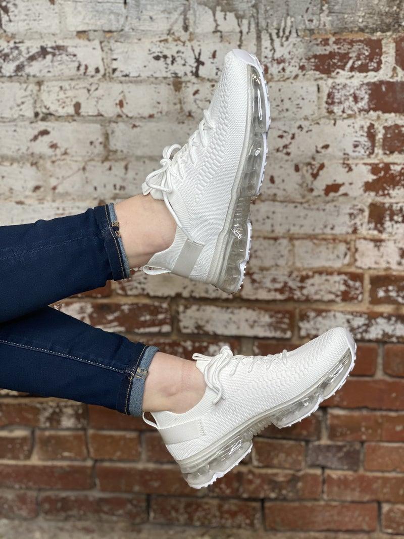 The Josie Sneaker - White