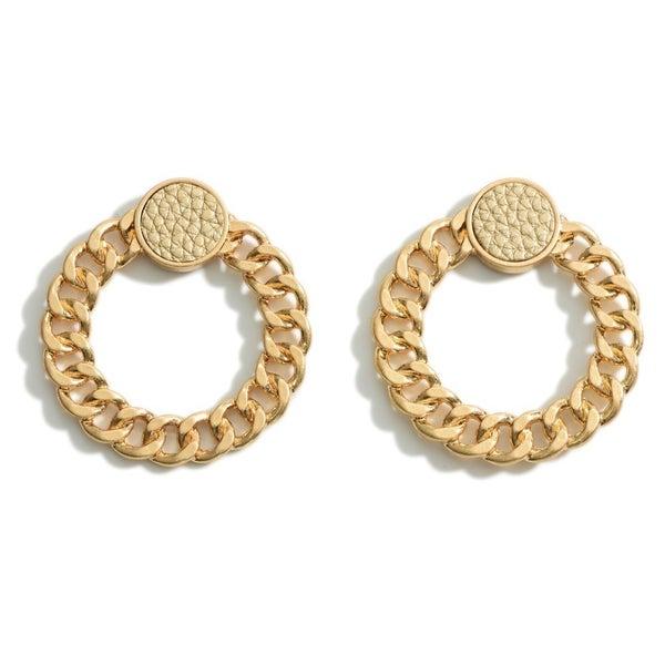 Simply Gold Earrings