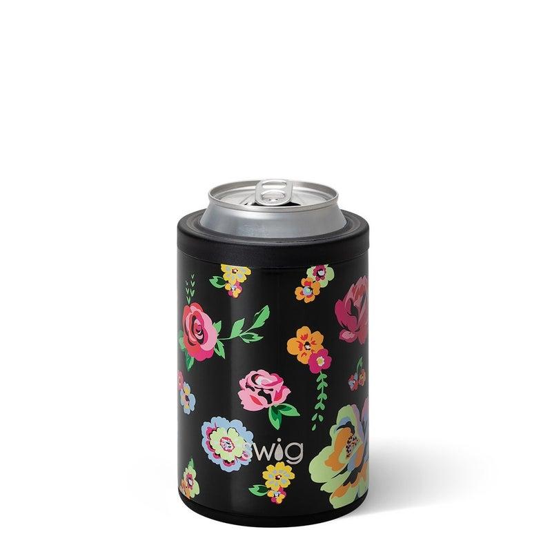 Swig-Fleur Noir Combo Can+Bottle Cooler (12oz)