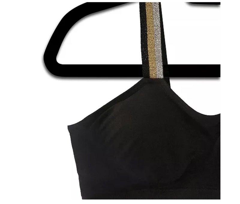 Reg + Curvy Strap-Its Metallic Tricolor