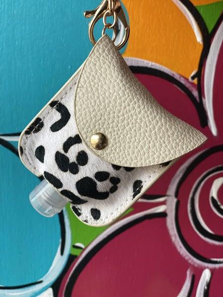 Leopard Print Hand Sanitizer Holder