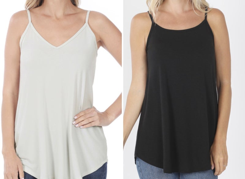 Savvy Deal! Oversized Reversible Cami - 2 Colors! *Final Sale*