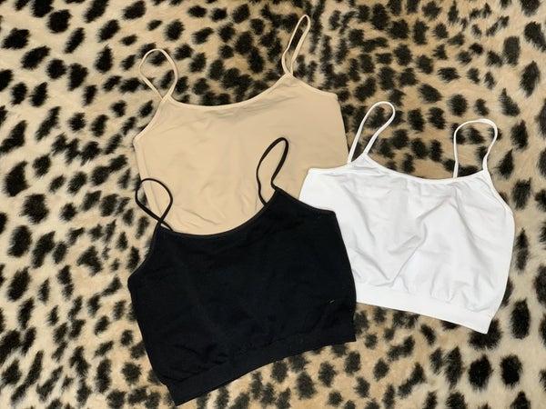 NIKIBIKI Basic Jersey Camisole *3 Colors* *Final Sale*