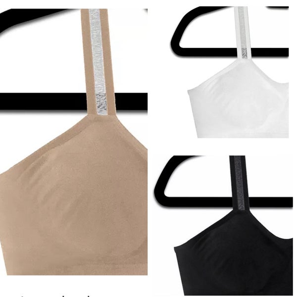 Reg + Curvy Strap-Its Sheer *3 Colors*