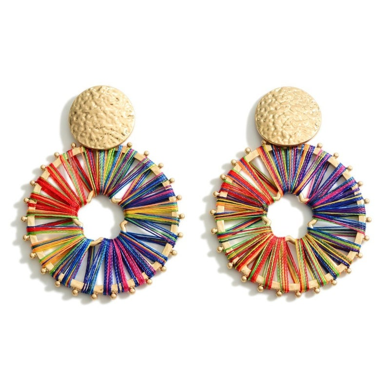 All The Colors Earrings